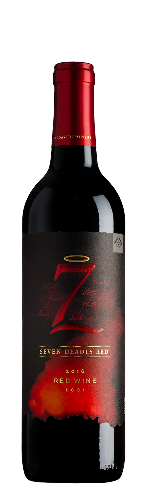 2016 7 Deadly Red Wine